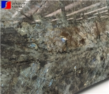 Blue Emerald Granite,Emerald Blue Granite Slabs