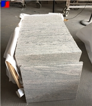 China Tianjing Wave Gold Granite Polish Tile & Slab China Grey Granite
