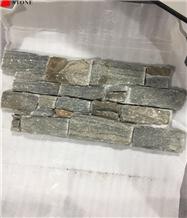 Grey Brown Cement Slate Ledge Conner Tiles Decor