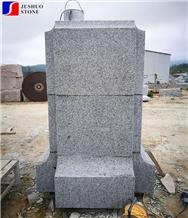 Massive China Natural Stone G603 Granite Kerbstone,Grey Curbstone,Curb