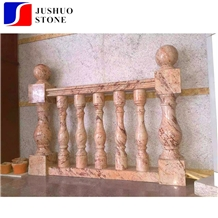 Polished Indiano Golden Granite,Indian Gold,Indiana Gold Column Rails