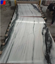 Sichuan Sonal White Marble,China Panda White Marble Slab for Tiles