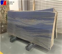 Tropical Blue Quartzite,Azul Tropicale Polish Slab