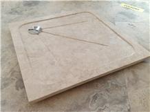 Botticino Classico Marble Show Tray,Bathroom Floor Shower Pan