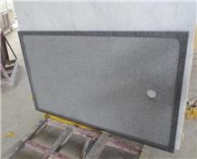 G654 Impala Black Granite Square Shower Tray,Bathroom Floor Base for Shower