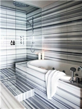 Marmara Blue Vein Marble Machine Cut to Size Tiles Bathroom Walling