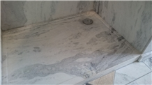 Silver Travertine Show Tray,Bathroom Shower Pan,Floor Base