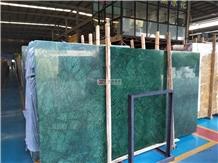 Dark Green Marble Verde Guatemala Marble Slabs