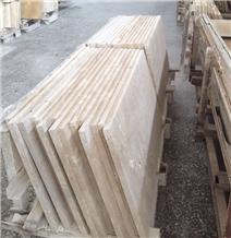 Armenia Ivory Travertine Slabs, Tiles