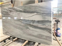 Cloudy White Marble Slabs, Tiles, Cut to Sizes