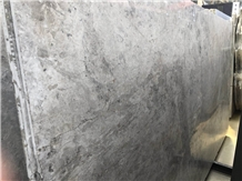 Galaxy Grey Marble Polished Slab/Tile/Cut to Size for Tv Set Cladding