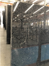 High Quality Black Ink Jade Pearl Granite Slab/Tile/Cut to Size