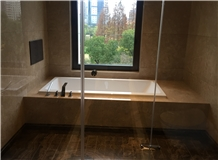 Huantan Beige Marble Slab & Tile for Kitchen/Bathroom/Wall/Floor