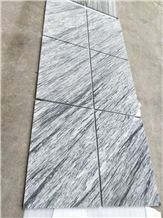 Natural Stone Meteor Shower Grey Marble Slab&Tile for Floor&Wall Decor