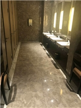 Own Factory Bosi /Bosy Grey Marble Slab&Tile for Floor&Wall Covering