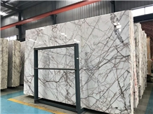 Own Factory White Sequoia Marble Polished Slab&Tile for Floor&Wall