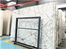 White Sequoia Marble Polish Slab&Tile for Kitchen/Bathroom/Wall/Floor