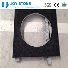 Black Pearl Granite Bathroom Countertop Vanity Top