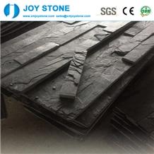 Cheap Hubei Black Slate Cultured Stone Tiles