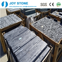 Excellent Hubei Natural Black Slate Cultured Stone