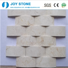 Fashion Design Natural Marble Stone Mosaic Tile for Wall 60x30