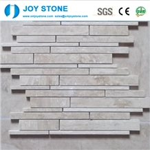 Fashion Design Natural White Marble Stone Mosaic Tile for Floor 30x30