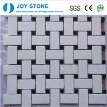 Fashion Design Natural White Marble Stone Mosaic Tile for Floor 60x30