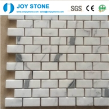 Fashion Design Natural White Marble Stone Mosaic Tile for Wall 60x60