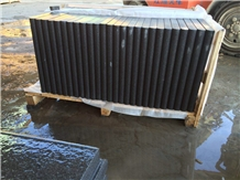 Good Quality Flamed Padang Dark G654 Grey Granite Pool Coping Tiles