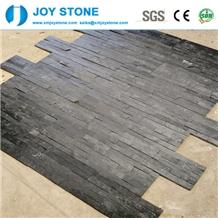 Hubei Black Slate Nature Culture Stone Wall
