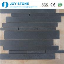 Wholesale Kitchen 60x60 Black Pattern Wall Roof Pattern Tile Mosaic