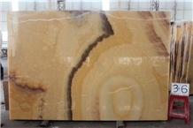 Agri Honey Onyx Slab Marble Slabs Hotel Room Wall
