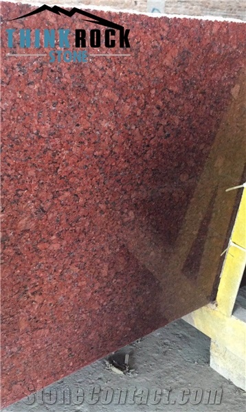 India Ilkal Imperial Red Granite Slabs Cut To Size Granite Tiles Xiamen Thinkrock Stone Imp Exp Co Ltd