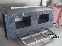 Prefab Blue Pearl Granite Countertops