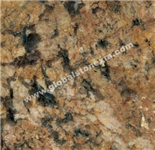 Alaska Gold Granite Slabs Tiles Kitchen Countertops Bathroom Vanities