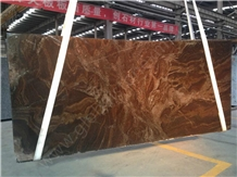 Fantasy Brown, Exotic Granite Tiles for Countertops and Vanity Tops