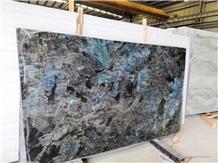 Labradorite River Blue Granite Magic Slab Tiles