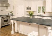 Brazil Exotic Skyfall Black Granite Kitchen Countertops