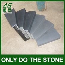 China Hainan Black Basalt Steps & Stair Treads