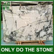 Chinese Picasso White Marble Slabs