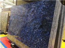 Luxury New Azul Bahia Blue Granite Slab
