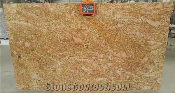 Ogromny Imperial Gold Granite Slabs from India-670243 - StoneContact.com MQ32