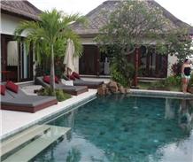 Hijau Sukabumi Swimming Pools Sukabumi Green Tuff Pool Tiles