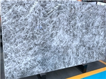 Arctic Crystallized White Marble Slabs Tiles Backsplashes Wallings
