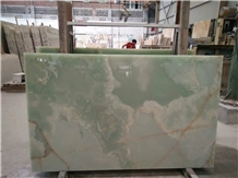 Light Sapphire Green Onyx Jadeite Onyx Slabs,Wall Floor Tiles