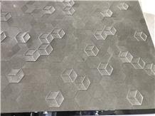 Piedra Arenisca Floresta Grey Flower Sandstone Slabs,Wall Floor Tiles