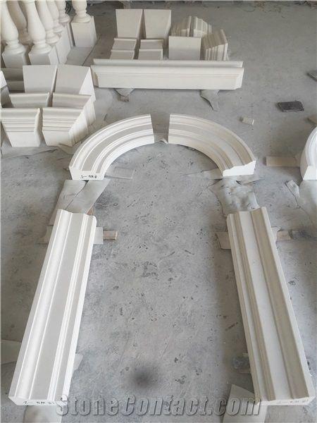 limestone window surround sill turkish customized frame stonecontact