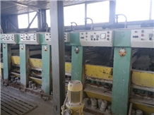 5 Head Secondhand Polishing Machine for Granite Slabs- Donatoni 1995