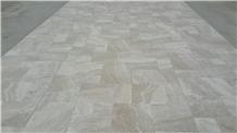 Lucra Cream Travertine Tiles and Slabs