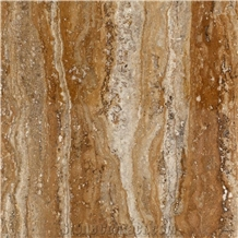 Lucra Gold Vein Cut Travertine Tiles and Slabs
